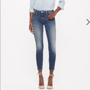 MOTHER -The Looker cropped denim jeans